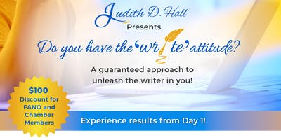 Do you have the 'write' attitude? - 3 Day Writer's Workshop