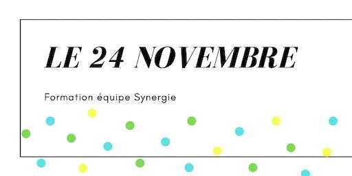 Le 24 novembre- journée de formation équipe Synergie