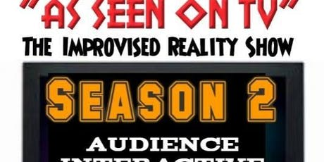 "RSVP Improv's ""As Seen on TV"" Show tickets"