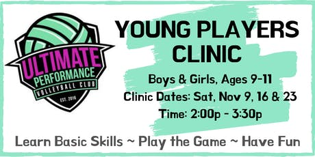 UPVBC Young Players Volleyball Clinic tickets
