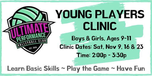 UPVBC Young Players Volleyball Clinic