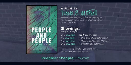 """Watch """"People and People"""" (a film by Travis B. Mitchell)"""
