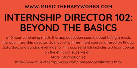 Internship Director 102: Beyond the Basics tickets