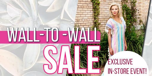 Nativa's Wall-to-Wall Exclusive Sale Event