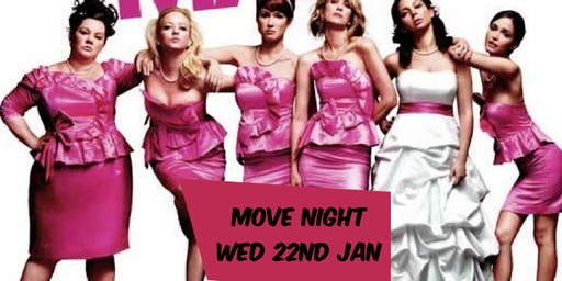 Bridesmaids Movie Night