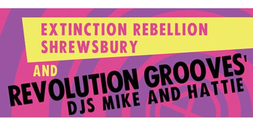 eXtinction Rebellion Fundraiser with Revolution Grooves