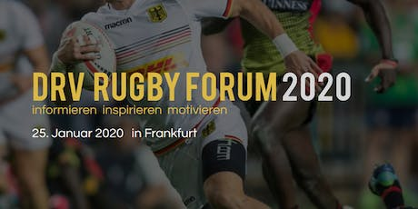 3.DRV Rugby-Forum 2020 Tickets