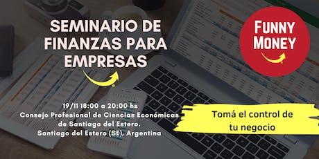 Seminario de Finanzas para Empresas entradas