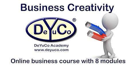 DeYuCo Academy Business Course Business Creativity tickets