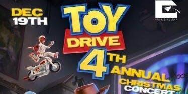 Coalition DJs Carolina 4th annual Toy Drive/Xmas concert