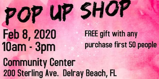 FREE Pop Up Shop
