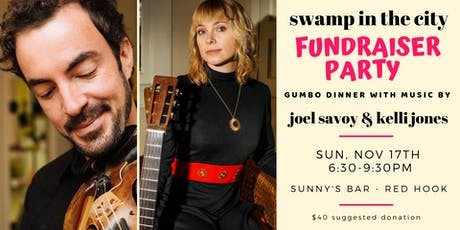 Fundraiser Party with Joel Savoy & Kelli Jones tickets