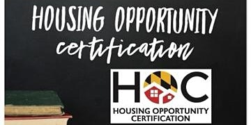 Housing Opportunity Certification (HOC) - Feb 5th 2020