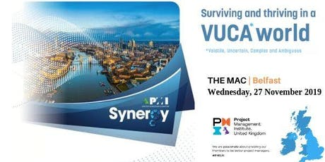 """Synergy Annual Conference and celebration of the PMI 50th anniversary -  """"How to deliver result in a VUCA environment: Learn and adapt fast"""" tickets"""