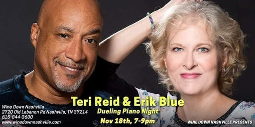 Dueling Pianos with Teri Reid and Erik Blue