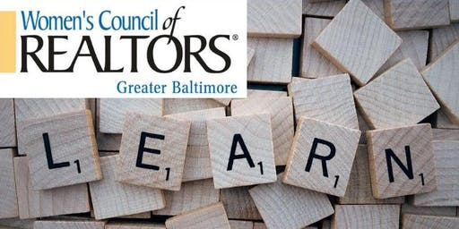 Women's Council Greater Baltimore Membership Orientation Day April 1st 2020