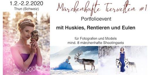 """Portfolio Event """"Märchenhafte Tierwelten #1"""""""