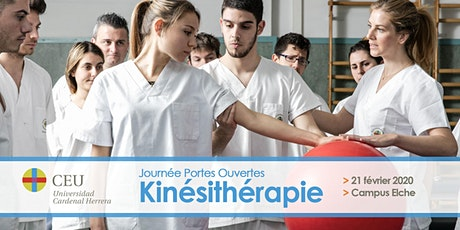 JOURNÉE DE PORTES OUVERTES - KINÉSITHÉRAPIE entradas