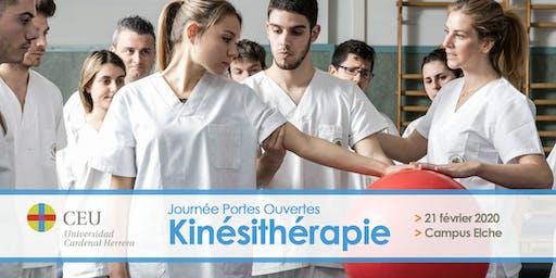 JOURNÉE DE PORTES OUVERTES - KINÉSITHÉRAPIE