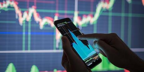 Earn money from home through learning Forex Trading (LISBON) bilhetes