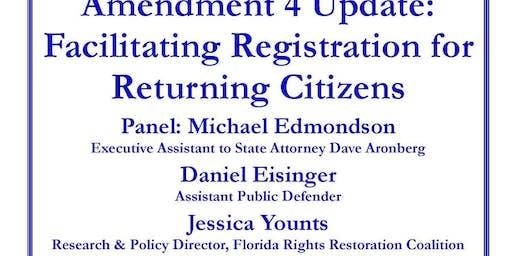 Delray Democratic Club Amendment 4 discussion