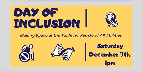 Day of Inclusion Exhibition tickets