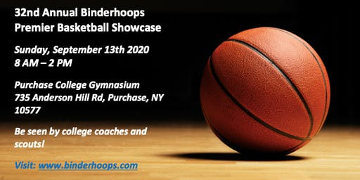 PLAYER REGISTRATION - 32nd ANNUAL BINDERHOOPS PREMIER BASKETBALL SHOWCASE