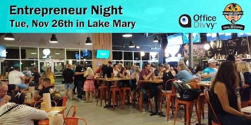 Entrepreneur Night in Lake Mary