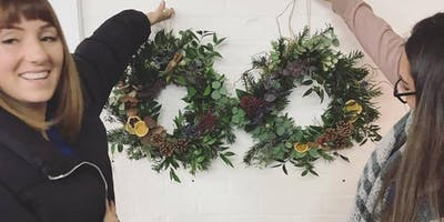 Winter Wreath Making Workshop - reste. Hastings Old Town.