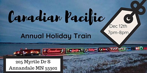 2019 Canadian Pacific Holiday Train Celebration