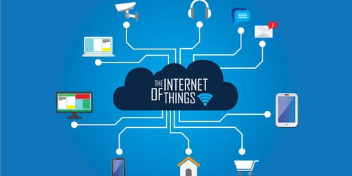 IoT Training in Shreveport | internet of things training | Introduction to IoT training for beginners | Getting started with IoT | What is IoT? Why IoT? Smart Devices Training, Smart homes, Smart homes, Smart cities | December 7- December 29, 2019
