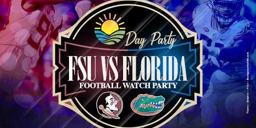 Florida VS FSU     Brunch Watch and Day Party