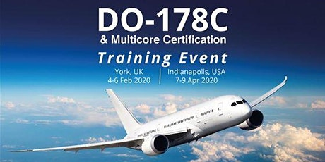 DO-178 & Multicore Training tickets