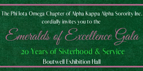 Emeralds of Excellence 20th Celebration Gala