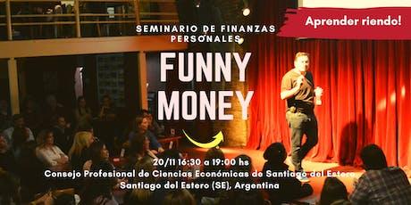 Funny Money - Seminario de Finanzas Personales entradas