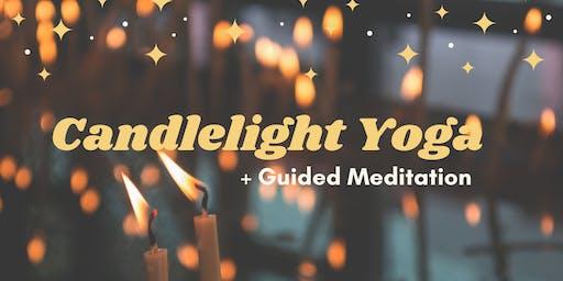 Candlelight Yoga + Guided Meditation