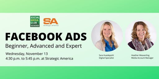 SMCDSM: Facebook Ads: Beginner, Advanced and Expert