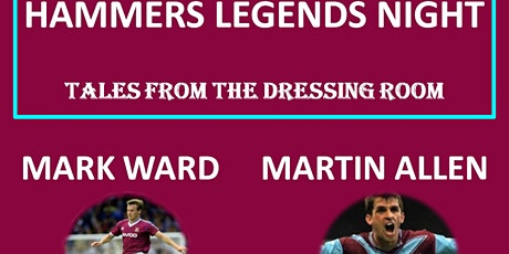 HAMMERS LEGENDS NIGHT (Rayleigh) tickets