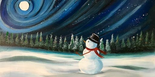 Paint Night Snowman  at the Royal Coachman