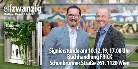 """Buchpräsentation und Signierstunde des lebendigen Bildbandes """"elfzwanzig"""" Tickets"""