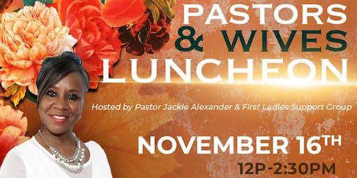 Senior Pastors & Wives Luncheon 2019