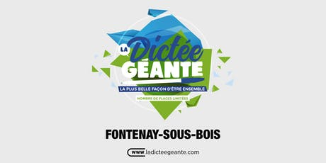 La Dictée Géante de Fontenay-Sous-Bois billets