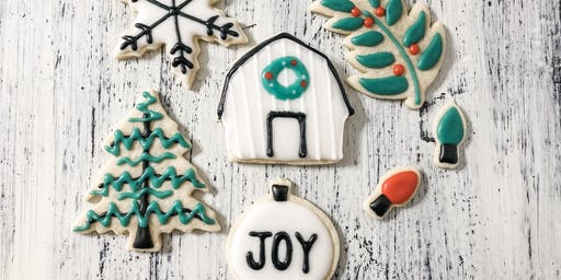 Farmhouse Christmas Cookie Class