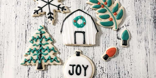 Farmhouse Christmas Cookie Class
