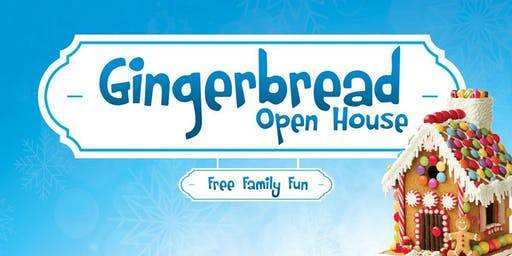 Annual Gingerbread Open House