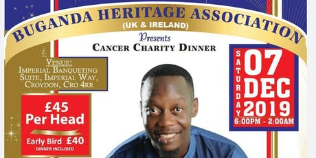 Cancer Charity Dinner tickets