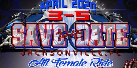 All Female Ride Jacksonville, Fl tickets