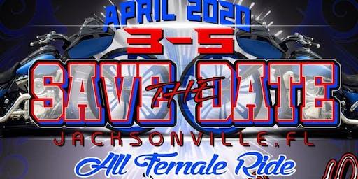 All Female Ride Jacksonville, Fl