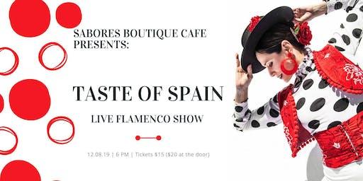 Taste of Spain - Live Flamenco Show