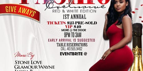 Fashion Exclusive Red and White Edition tickets